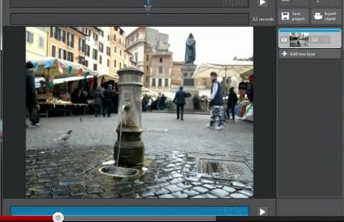 Clippets – Software para dar movimiento a sus fotos