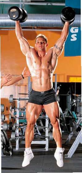 BODYBUILDING ROUTINES : FULL BODY : SQUAT JUMP-PUSH PRESS