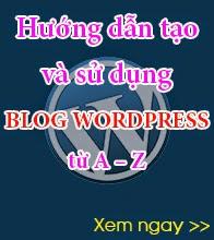 Cách tạo blog wordpress