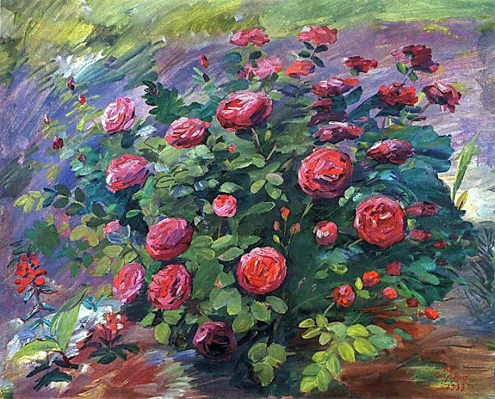 Martiros Saryan - May roses, 1939