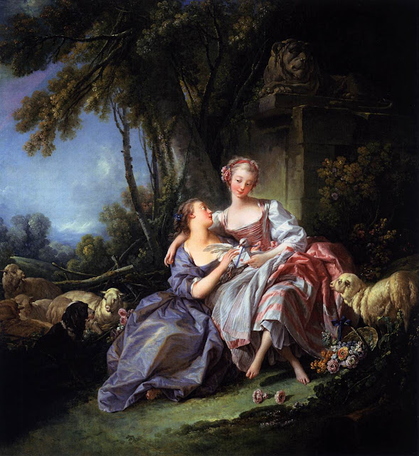 Francois Boucher - The Love Letter