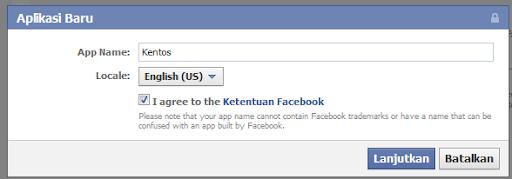 Cara membuat Update Status Facebook via