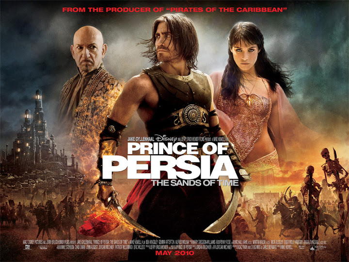 Prince of Persia Sands of Time Poster