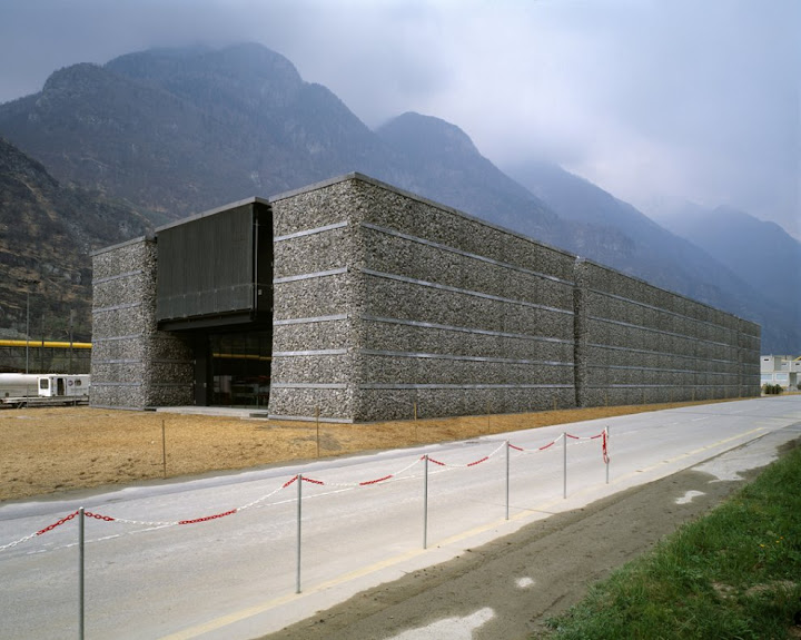 Gotthard Alp Transit visitor center