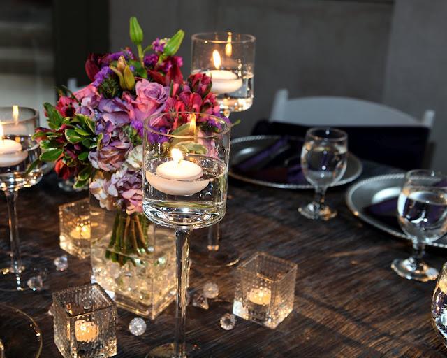 Behind the lens floral arrangements