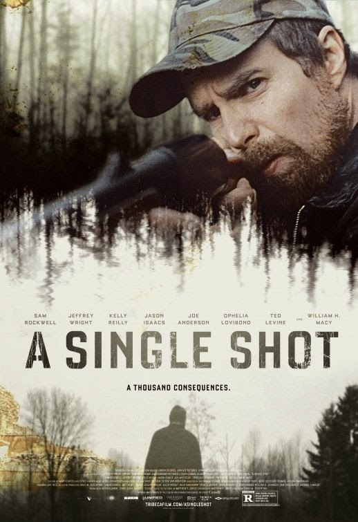 Poster Of English Movie A Single Shot (2013) Free Download Full New Hollywood Movie Watch Online At Alldownloads4u.Com