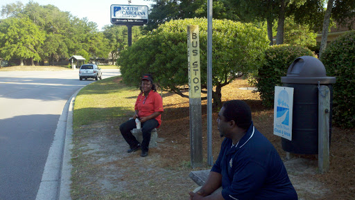 Houston Northcutt Bus Stop, West Side, Mount Pleasant, SC