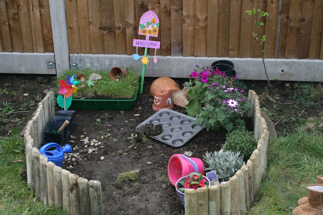 Activities for preschool children: play garden