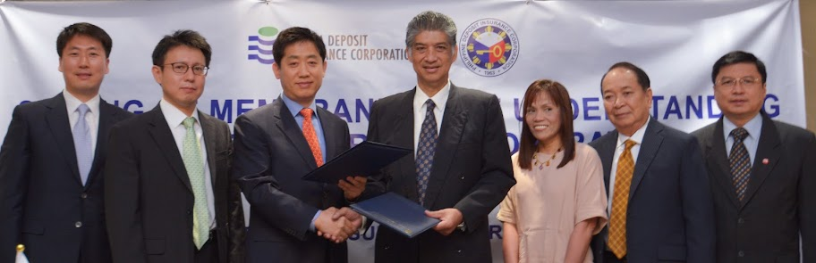 PDIC, Korean firm partnership agreement signing