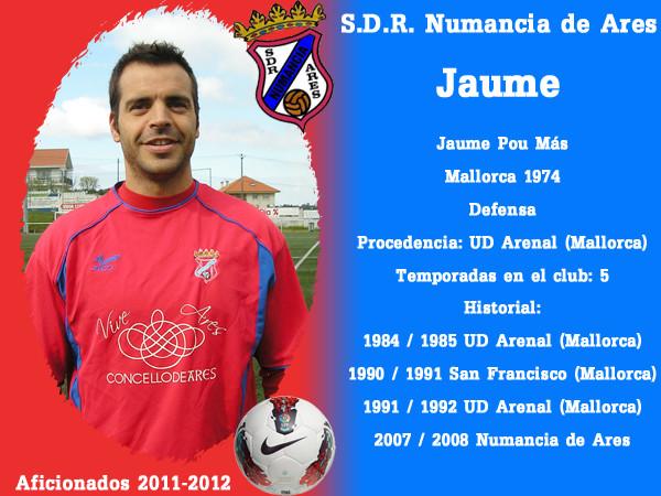 A.D.R. Numanciad de Ares. Jaume.