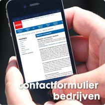 zakelijk contactformulier
