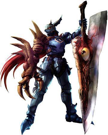 Ilustración de Nigthmare perteneciente al juego Soul Calibur II