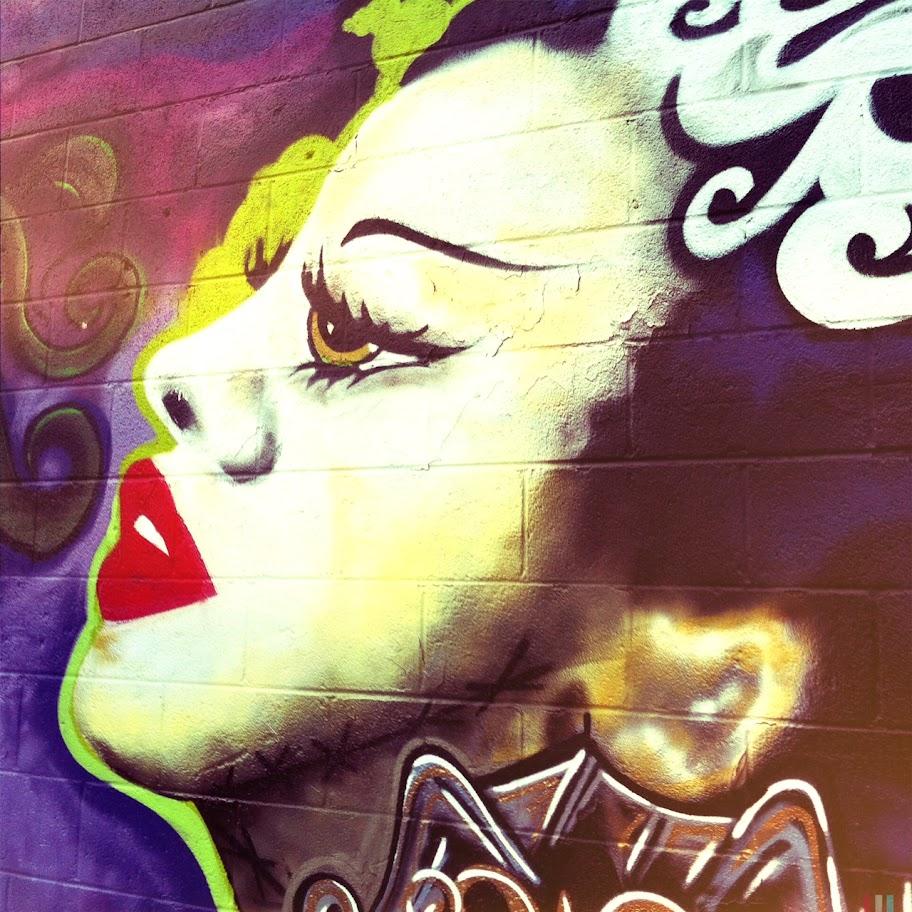 Mural, Logan Square, photo by Kim Kovalick