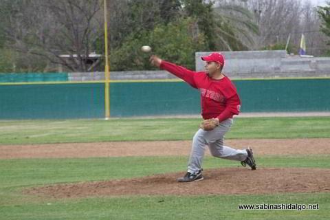 Francisco Javier Serna de Yaquis en el beisbol municipal