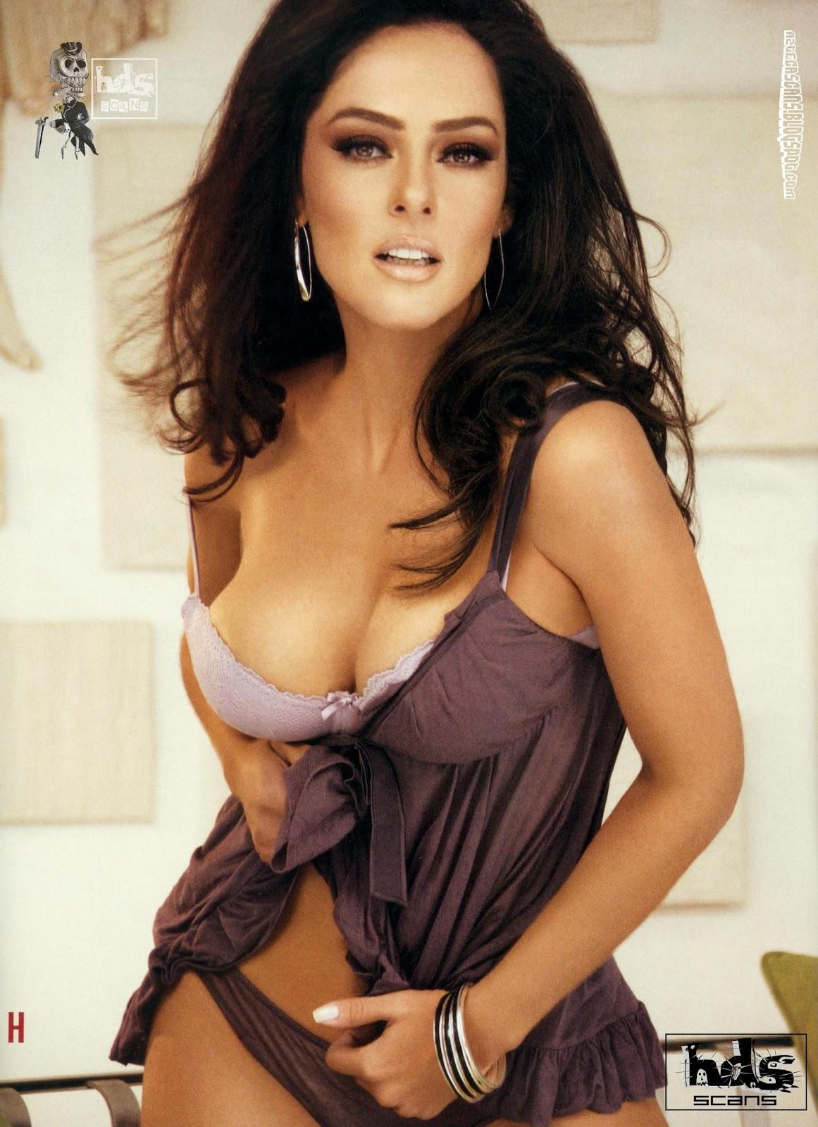 Andrea Garcia desnuda en la revista H