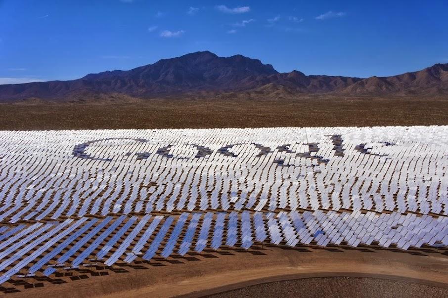 Google Solarkraftwerk