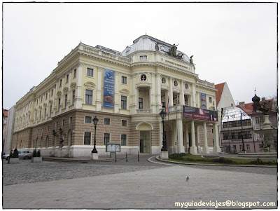 Ópera de Bratislava.