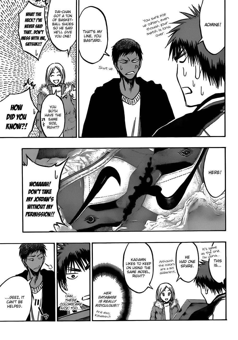 Kuroko no Basket Manga Chapter 174 - Image 11