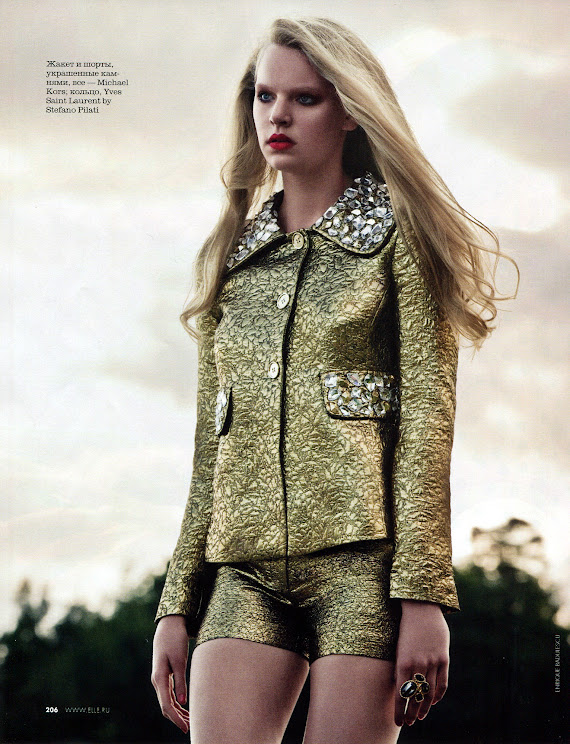 Marieke van de Braak - Elle Rusia feb-2013