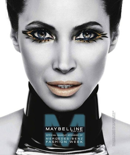 Maybelline Mercedes-Benz New York Fashion Week 2011 Campaign