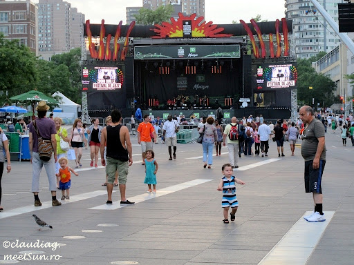 Place des Arts. Festivalul International de Jazz.