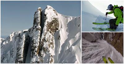 A descida de ski mais insana de sempre