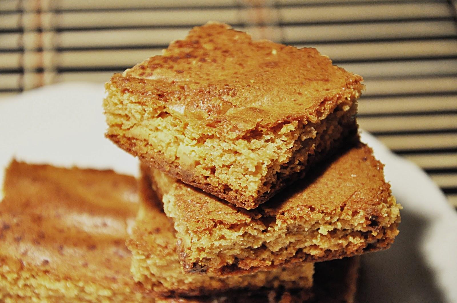 Cake Batter Blondies Calories