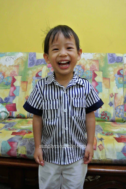 Little Man turns 3!