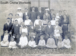 Group photo of church workers in South China. Year(?)