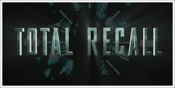Total Recall Soundtrack by Harry Gregson-Williams Releases July 31