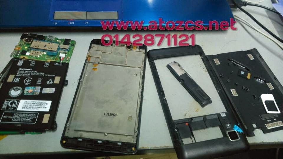 Lenovo P780 LCD Digitizer Screen Replacement