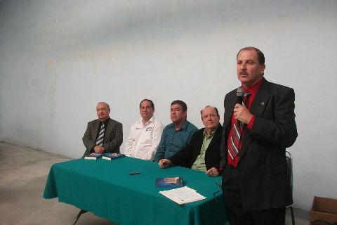 Mario Treviño Villarreal en el Consejo de la Historia y Cultura Sabinas Hidalgo