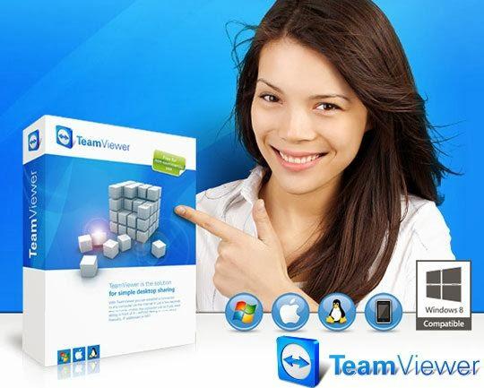 Free Download Latest Version Of TeamViewer v.8.0.19617 Remote Control Software at alldownloads4u.com