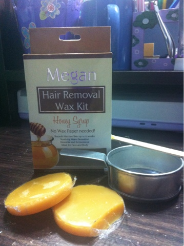 Kuxiemonster Licious Product Review Megan Hair Removal Wax Kit