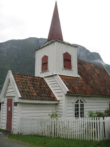 Iglesia de madera de Undredal (Noruega)