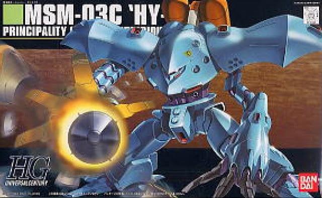 Đồ chơi Lắp ghép MSM-03C Hy-Gogg HGUC tỷ lệ 1/144 dành cho trẻ trên 8 tuổi