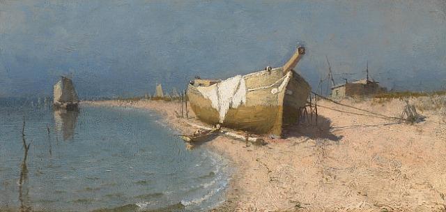 Dennis Miller Bunker - Beached Boat