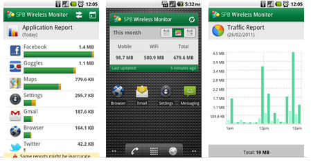 SPB Wireless Monitor for Android