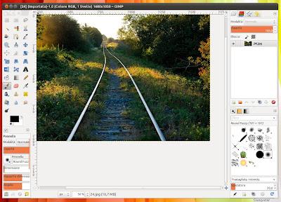 GIMP 2.7.5