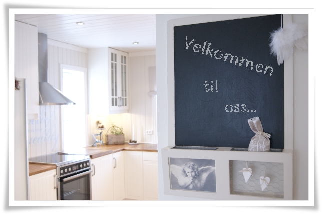 Frøken H: NIB-utfordring: Kjøkken