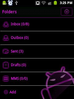 GO SMS Pro - Traditional SMS Folders