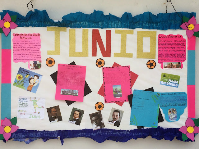 Periódico Mural Del Mes De Junio Escuela Telesecundaria Quetzalcoatl