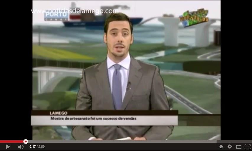 Vídeo - Porto Canal divulga Feira de Artesanato de Lamego - Territórios