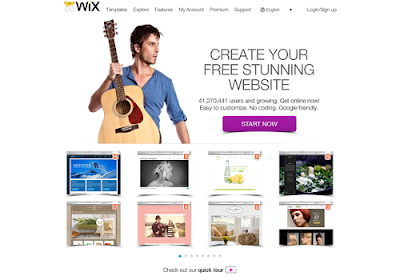 Wix.com free online website builders