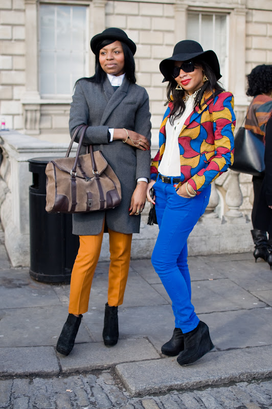 Street Style at London Fashion Week Autumn/Winter 2012