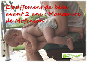 etouffement bébé moins de 2 ans gestes qui sauvent manoeuvre de Mofenson