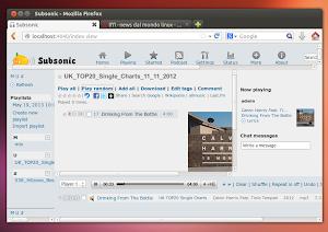 Subsonic Music Streamer su Ubuntu 13.04