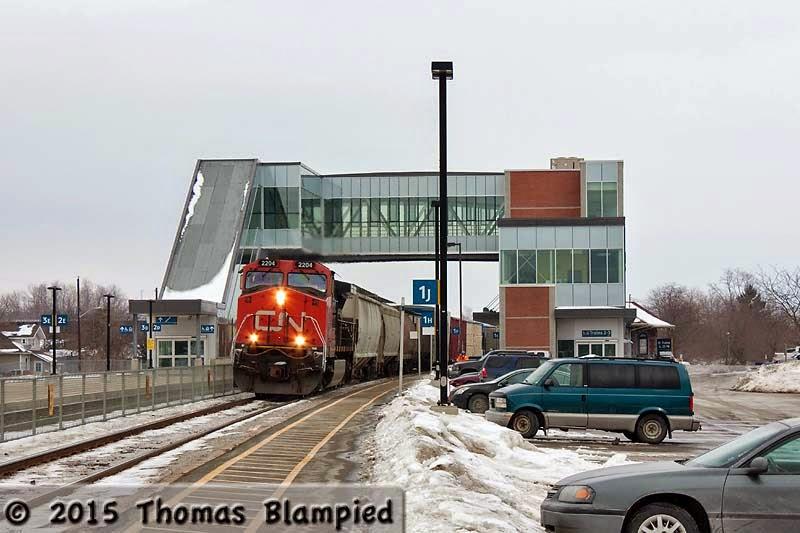Cobourg Station.