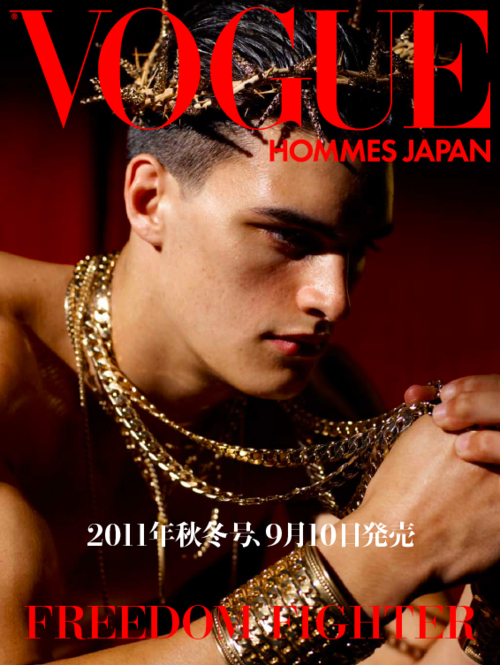 Matthew Terry @ Ford by Branislav Jankic for Vogue Hommes Japan, F/W 2011