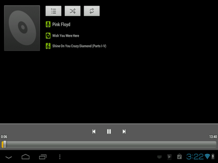 Playing FLAC audio files on the MK802 Android 4.0 Mini PC Smart TV Player